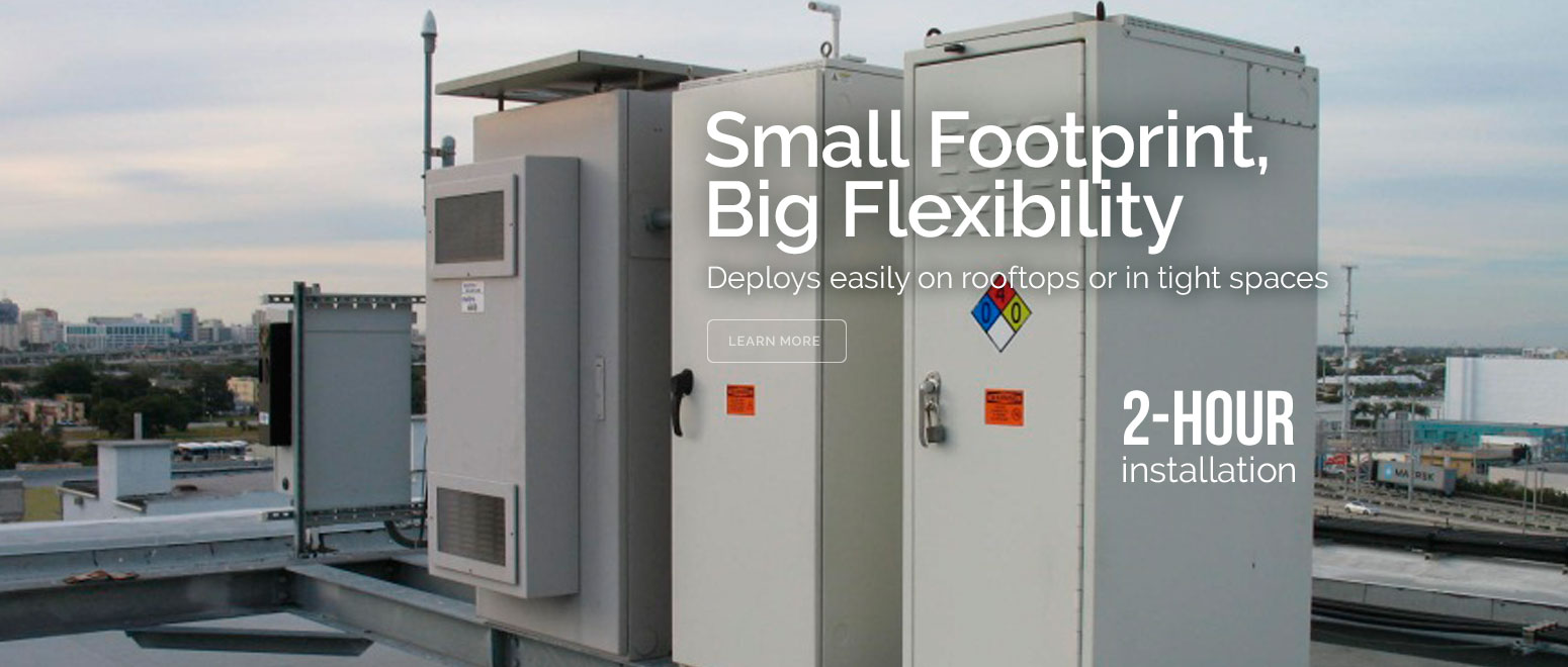 Small Footprint Big Flexibility